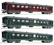 модель Fleischmann 513602 Набор из трёх швейцарских пассажирских вагонов
