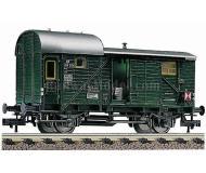 модель Fleischmann 5301 Теплушка с эл.поездными огнями и внутренним освещение м.