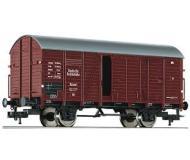 модель Fleischmann 533150-2  Товарный вагон, тип Gr 20. Принадлежность DB. Эпоха III