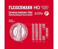 модель Fleischmann 6094 DREHSCHEIBEN-SET