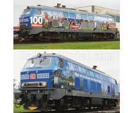 модель Fleischmann 723609 Тепловоз BR 218 467-9 100 Mio. Bayern-Ticket Kunden. Принадлежность DB AG