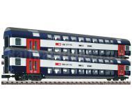 модель Fleischmann 815406 Двухэтажный пассажирский вагон 1/2 класса, тип AB. Принадлежность SBB
