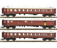 модель Fleischmann 817004 Набор из трёх вагонов: вагон 1 класса, тип A3. Принадлежность SJ
