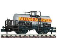 "модель Fleischmann 842612 Kesselwagen 2-achs ""Butan Sc"