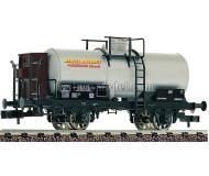 """модель Fleischmann 843407 Kesselwagen m Bremserhaus """"MARCEL ROU"""