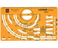 модель Fleischmann 995101 Gleisplanschablone N neu