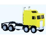 модель Herpa 006442 K100 5-Bar Grill Twin Steer Semi Tractor. Собран.  Цвет в ассортименте.