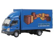 модель Herpa 006471 Mitsubishi Fuso Box-Body Delivery Truck. Собран,  Canter