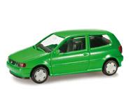 модель Herpa 012140-002 VW Polo (зелёный). Набор для самостоятельной сборки.