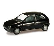 модель Herpa 012157-003 Opel Corsa B (чёрный). Набор для самостоятельной сборки.