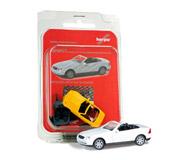 модель Herpa 012188-003 MB SLK Roadster, белый. Набор для самостоятельной сборки