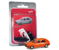 модель Herpa 012195-002 VW Golf II (оранжевый). Набор для самостоятельной сборки.