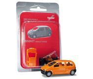 модель Herpa 012218 Renault Twingo. Серия MiniKit - модель для легкой и быстрой сборки, без использования клея. Цвет в ассортименте.