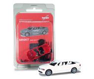 модель Herpa 012638-002 BMW 3er™ M-Cabrio E46, белый. Набор для самостоятельной сборки
