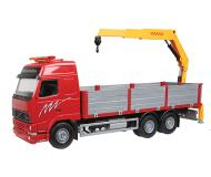 модель Herpa 020455 European Construction Equipment -- Scania T Dump Truck w/Dump Trailer
