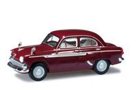 модель Herpa 023672-003 Москвич 403, рубиновый красный
