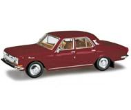 модель Herpa 024334-003 Волга M24. 1969 - 1992 года. Цвет бургундия.
