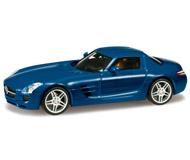 модель Herpa 024419-003 Mercedes-Benz SLS AMG,синий ультрамарин