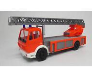 модель Herpa 041522 Автомобиль пожарной службы Mercedes-Benz SK DLK 23-12
