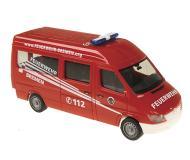 модель Herpa 047197 European Emergency -- 1999 Mercedes Benz Sprinter Bremen Пожарная служба