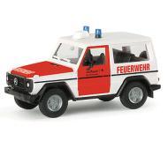 модель Herpa 047845 Mercedes Benz G класс. Пожарная служба