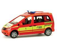 модель Herpa 047937 Mercedes Benz Vaneo, Пожарная служба Мюнхена