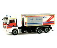 модель Herpa 047944 Европейские грузовики.  MAN TGS Roll-Off Container, Salzgitter
