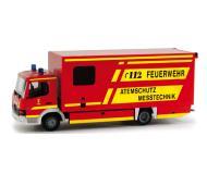 модель Herpa 048989 Mercedes Atego. Пожарная служба Мюнхена
