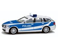 модель Herpa 049405 BMW 5-й серии  универсал. Собран,  German Federal Police