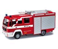 модель Herpa 090445 MAN TGS M. Собран.  Пожарная служба Берлина