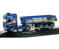 модель Herpa 121231 Private Collection - European Truck -- Scania R TL Dump Semi Sperl