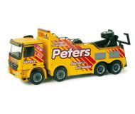 модель Herpa 157520 Mercedes Actros M Heavy-Duty Wrecker -- Peters