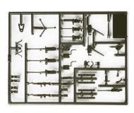 модель Herpa 742139 Herpa Military - US/NATO Accessories -- Heavy Machine Guns. 30,. 50 & Equipment