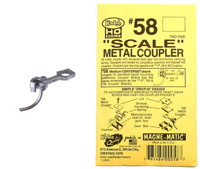 модель Kadee 58