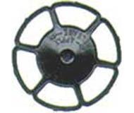модель Kadee 2042 Колесо ручного тормоза Miner, упаковка 8 шт, черного цвета.