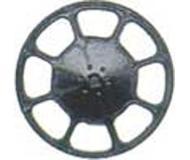 модель Kadee 2045 Современное колесо ручного тормоза, упаковка 8 шт, черного цвета.