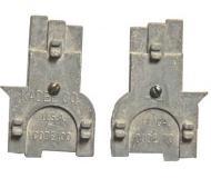 модель Kadee 341 Трехточечный шаблон с индикатором осевой линии. Одна сторона шаблона для рельс код 70 и вторая сторона для рельс код 100