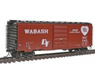 модель Kadee 5306 Полностью собранный 40' товарный вагон тип PS-1 с 8' дверью. Принадлежность Wabash #7602 (1957 год)