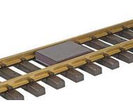 модель Kadee 811 Расцепитель магнитный, устанавливается между рельс, для двухрельсового путевого материала масштаба O