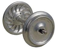 модель Kadee 951 Ribbed-Back Metal Wheelsets -- соответствуют диаметру 33 дюйма, колёс для масштаба 1:29 или 36 дюймов для масштаба 1:32 (масштаб 1)
