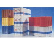 модель Kibri 10924 Набор из восьми 20-футовых контейнеров.