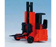 модель Kibri 11756 Автокар красный, 3x2,5x3,5 cm.