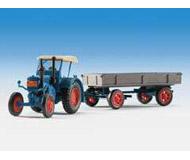 модель Kibri 12232 Трактор LANZ с прицепом