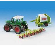 модель Kibri 12233 Трактор с культиватором и прицепом