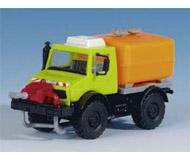 модель Kibri 12259 Автомобиль UNIMOG для распыления реагентов.