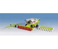 модель Kibri 12263 Комбайн Claas приспособлением для уборки кукурузы.