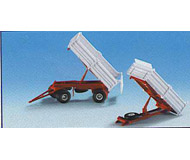 модель Kibri 14034 2 Axle Trailer w/Tipper
