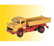 модель Kibri 14100 Mercedes-Benz Low-Side Dump Truck w/Round Hood - Kit -- Bolling