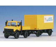 модель Kibri 14981 Unimog w/Post Trailer