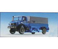 модель Kibri 14986 Unimog w/Adjusatbl Height